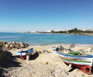 La vue sur le golfe de Tunis est magnifique. Photo Aude Ferbos