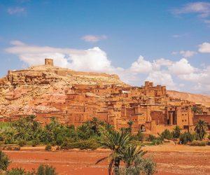 Figurant dans de nombreux films, le ksar Aït-Ben-Haddou est mondialement connu.