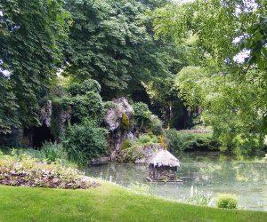 Le jardin Vauban, à l'anglaise, appelle à la tranquillité. Photo office detourisme Lille CarineParquet