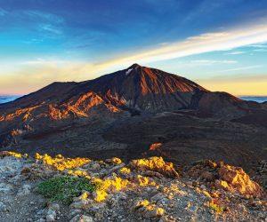 Le volcan Teide, à Tenerife, est le point culminant de l'Espagne.